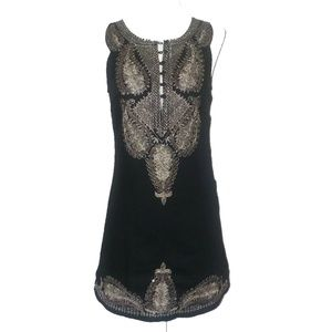 FREE PEOPLE Embellished Embroidery Sequin Dress 2